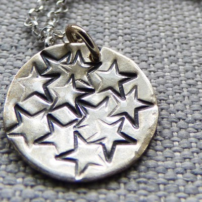 handmade star necklace