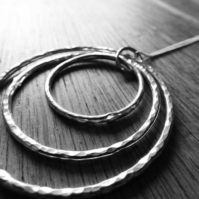 three circles pendent 3