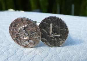 bespoke commissioned cufflinks