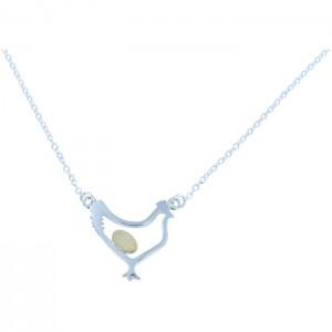 Chicken & Egg Necklace